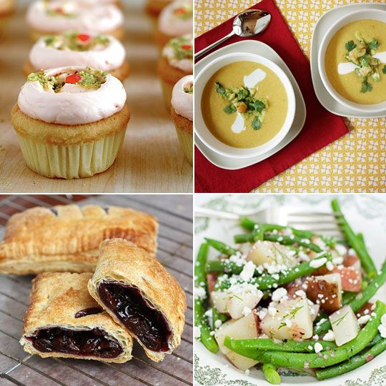 Cherry Hand Pies & Summer Corn Soup with Shrimp Delicious links for 07 ...