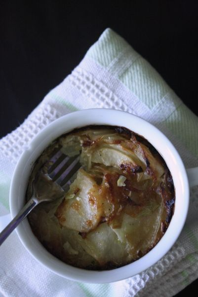 Potato, Leek and Fennel Gratin | Recipes to Try-Side Dishes | Pintere ...
