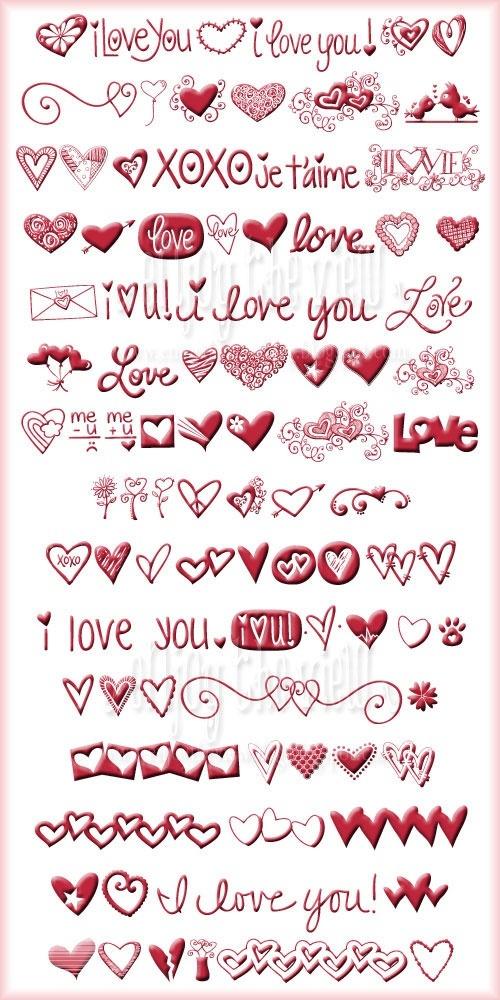 valentine's day symbols chocolate