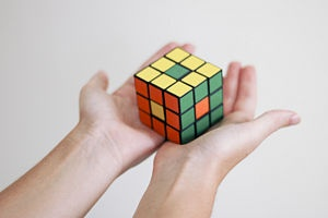 Optimal solutions for Rubik's Cube - Wikipedia, the free