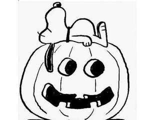 Coloring pages | Charlie Brown Great Pumpkin Party | Pinterest