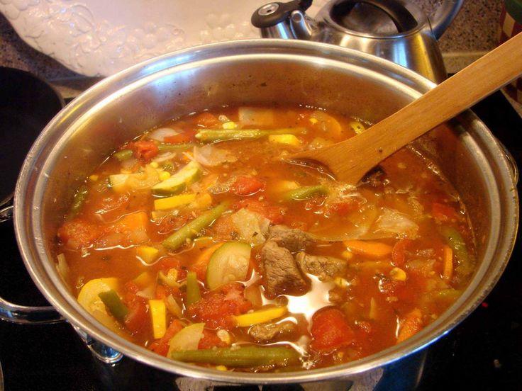 Autumn Vegetable Soup Recipe — Dishmaps