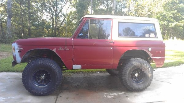 1971 Ford bronco for sale craigslist