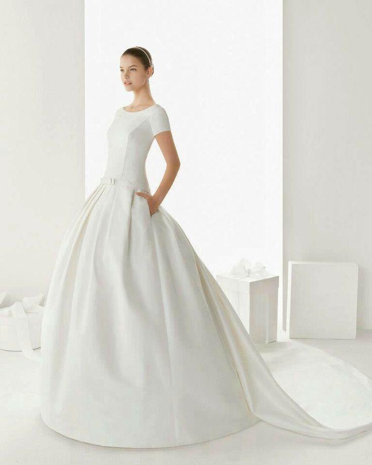 dresses love modest wedding