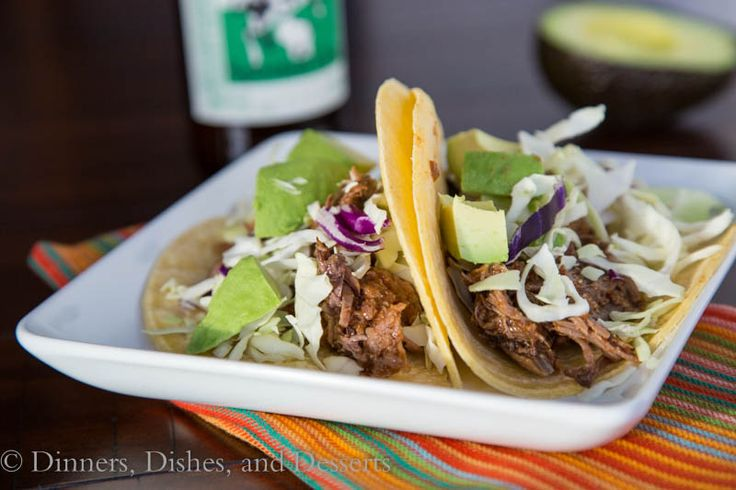 Slow Cooker Chipotle Beef Tacos- use leftovers to make sesame beef ...