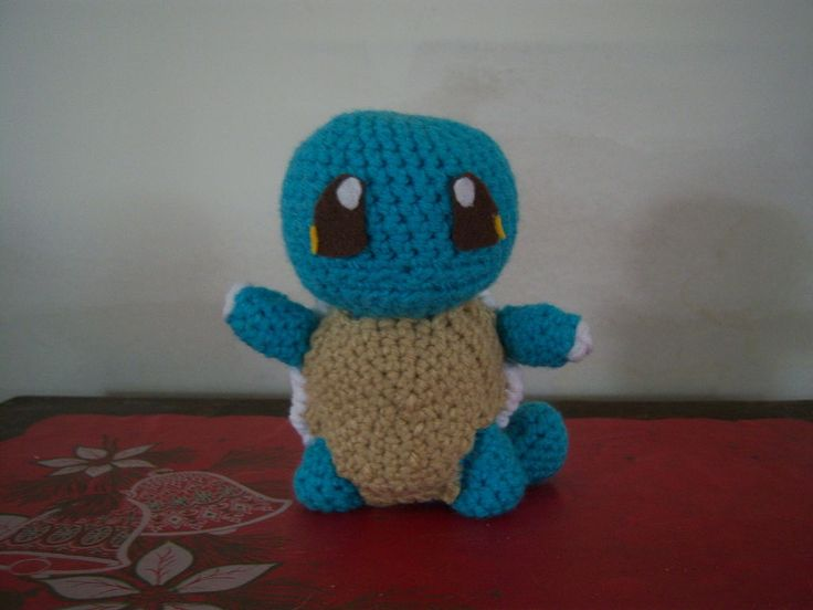 Squirtle Amigurumi - (Free Pattern) Knitting and Crochet ...