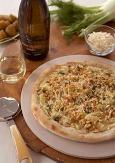 Fennel, Fig & Fontina Cheese Pizza | Favorite Recipes | Pinterest