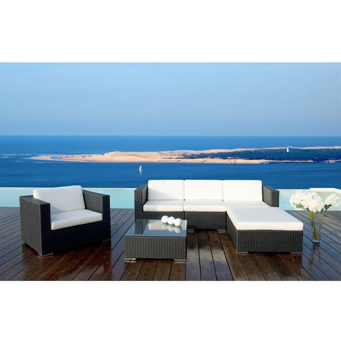 Emejing Salon De Jardin Goa Blanc Ideas - Amazing House Design ...