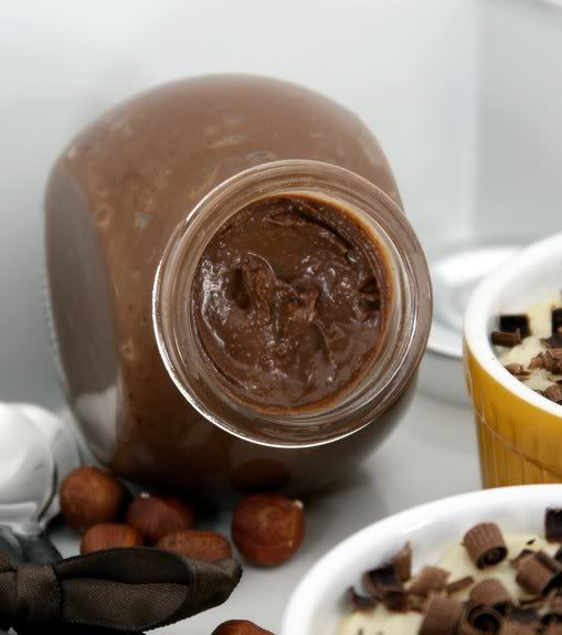 Homemade Chocolate Hazelnut Spread | Flavored Butters & Spreads ...