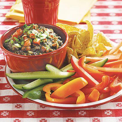 Bean And Bacon Fiesta Dip Recipe — Dishmaps