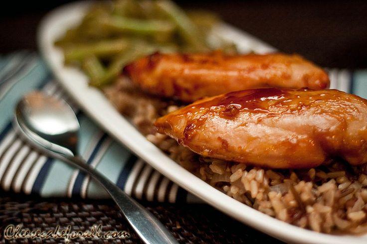 Orange-Ginger Glazed Chicken Breasts | Eat: Poultry - Chicken (Bonele ...