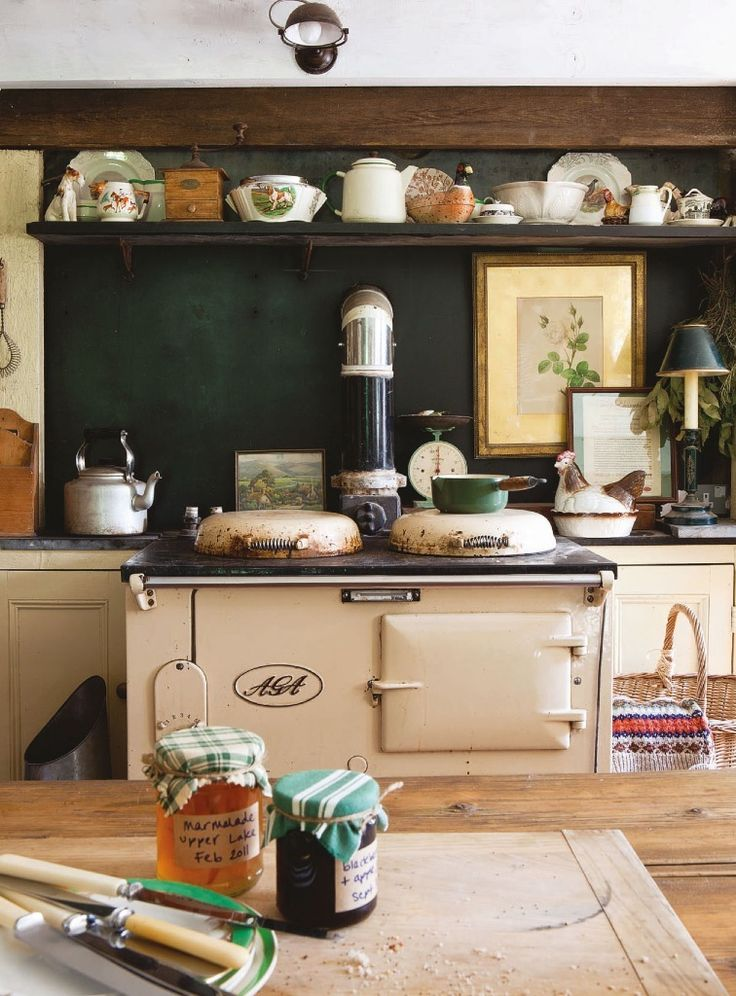 English Country kitchen  English Country  Pinterest