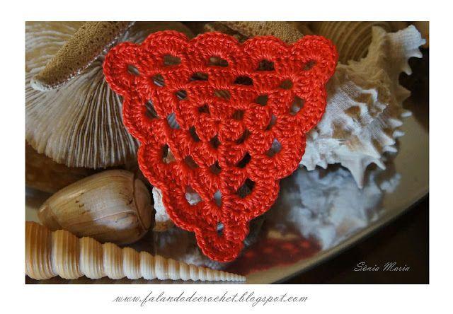 E Patterns Crochet : FALANDO DE CROCHET CROCHET IDEE E PATTERNS - IDEAS AND PATTERNS ...