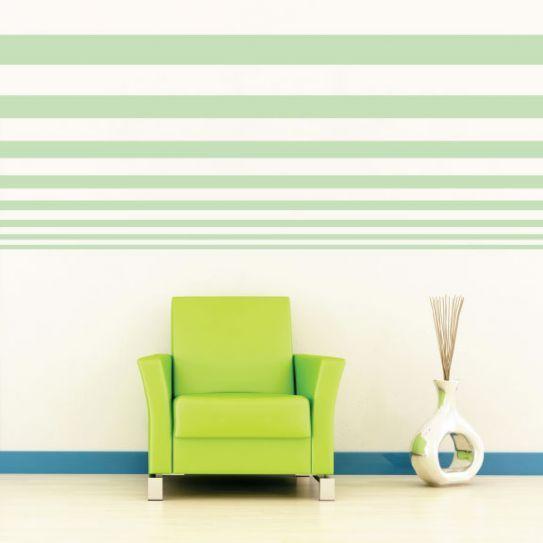Pareti a righe verticali e orizzontali  Io come una sedia  Pinterest