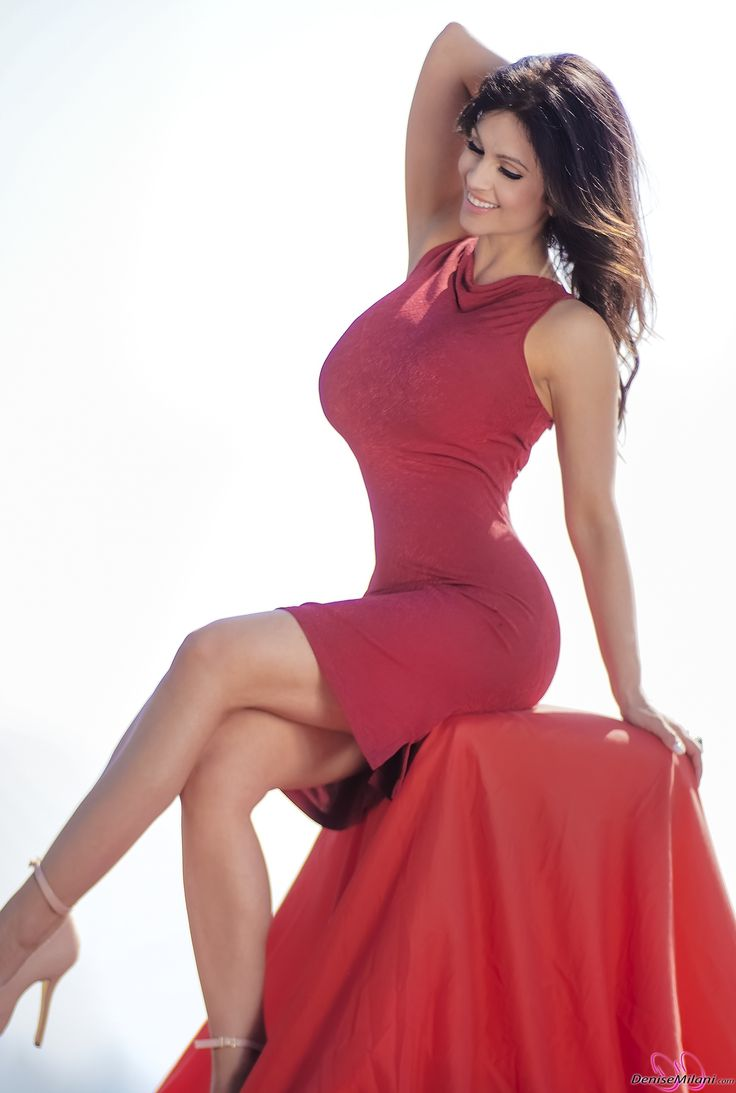Denise Milani Is Ready For A Lunch Date Are You