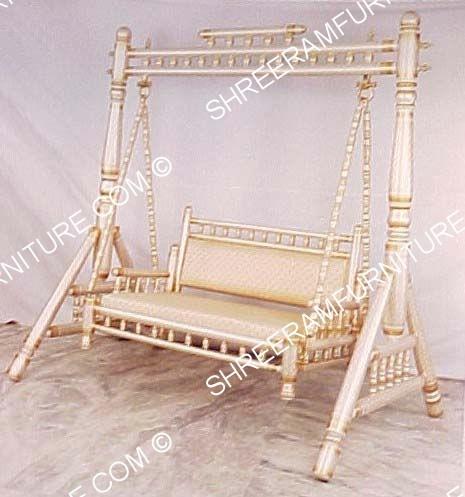 Sankheda Furniture V Shaped Swing Jhula Shawna Home