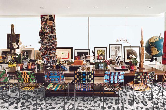 DVF's penthouse & design studio