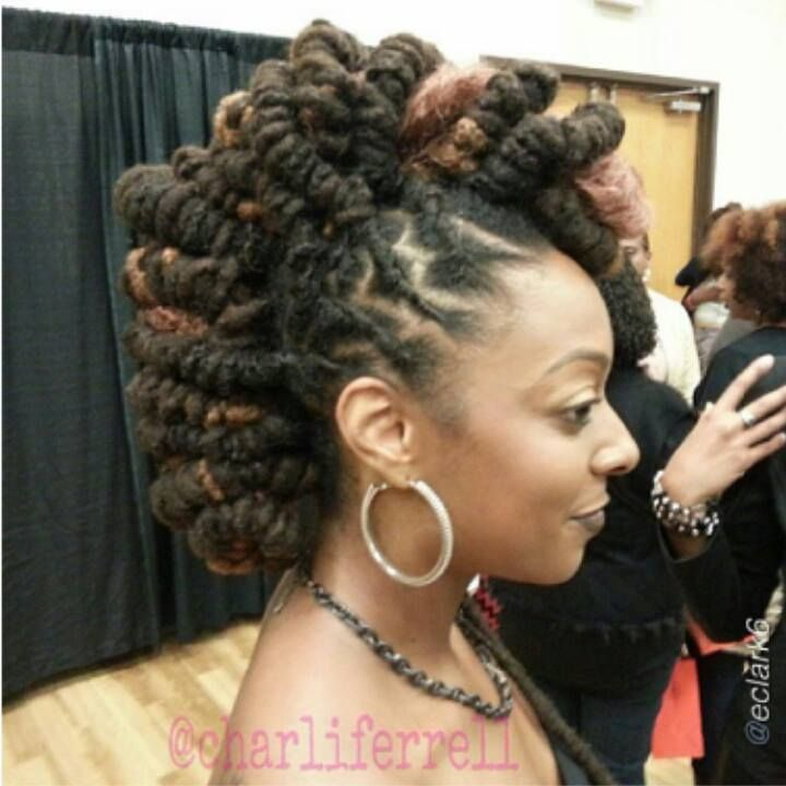 Loc Hairstyles For Long Locs - Best Hair Style