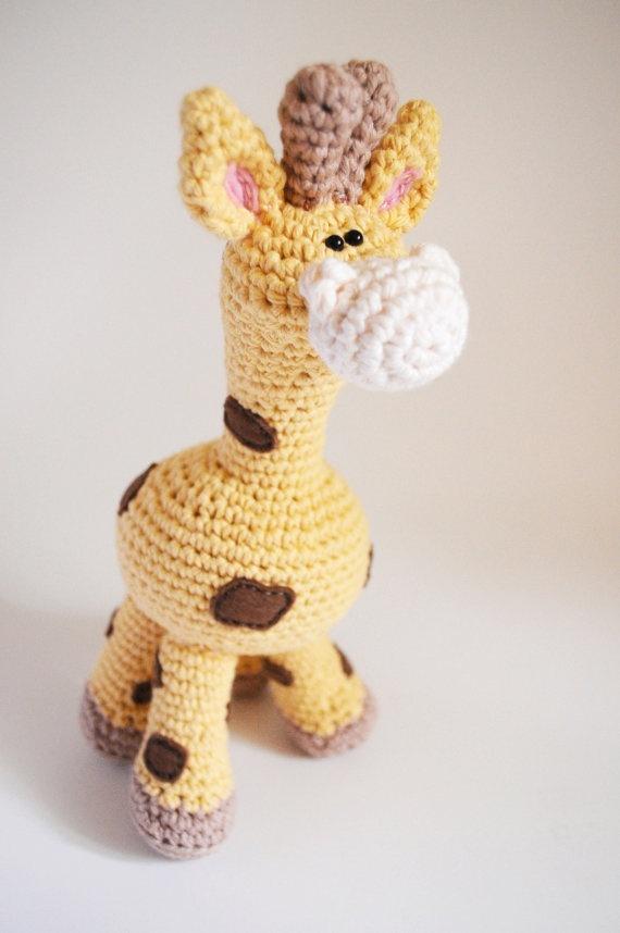 Amigurumi Ideas : Giraffe Amigurumi - love Craft Ideas Pinterest