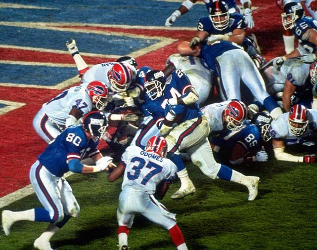 Image result for giants bills super bowl