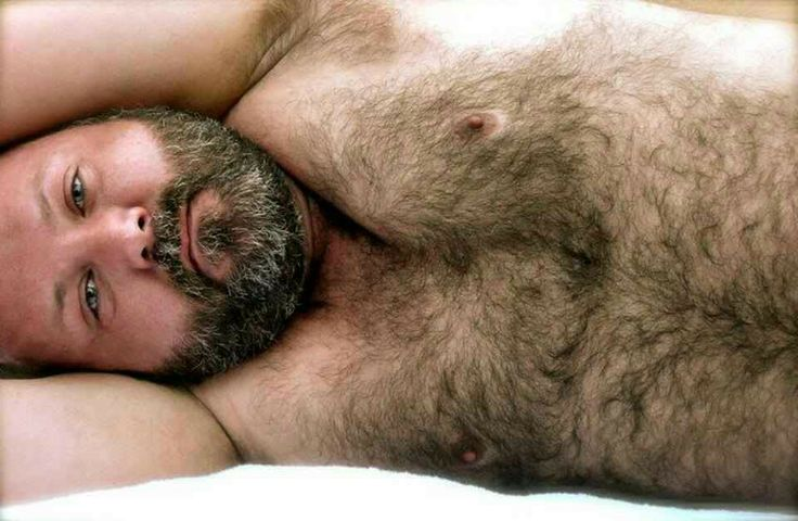 Hairy Bear Men Beards
