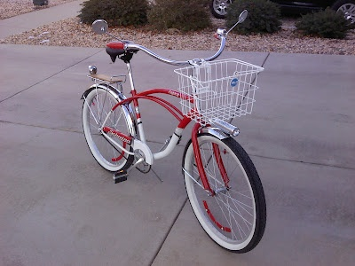 2010 Schwinn Legacy with lots of bells and whistles added