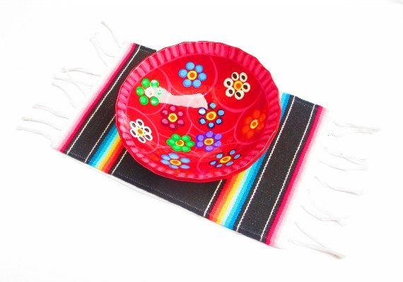 Aztec Home Decor Tribal Placemat Table Decoration Mexican Party De
