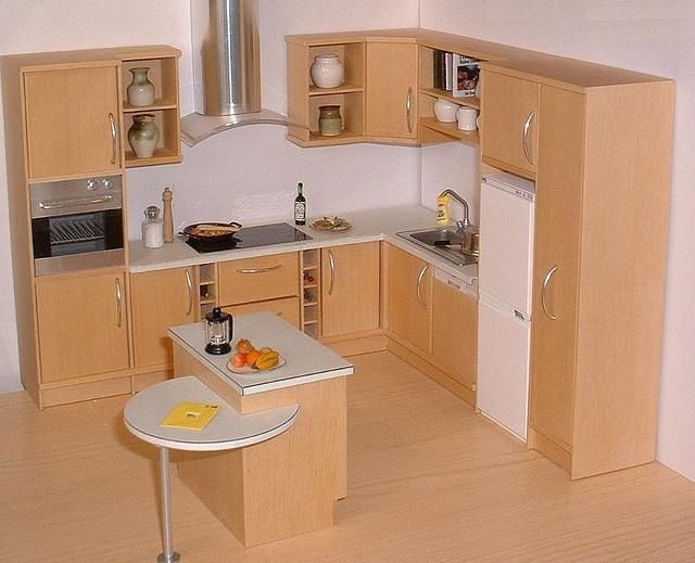 Miniature kitchen miniature kitchens pinterest for Kitchen pin