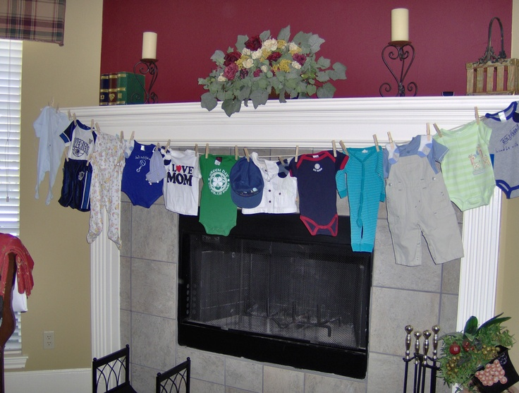 baby shower clothesline my blueberry cupcake pinterest