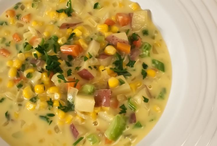 More like this: sweet corn , chowders and chile .