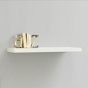 White Wood Shelves : InPlace Shelving 23.6