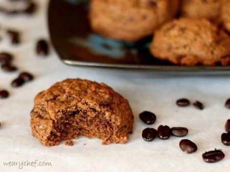 Very Dark Chocolate Espresso Cookies   Recipe