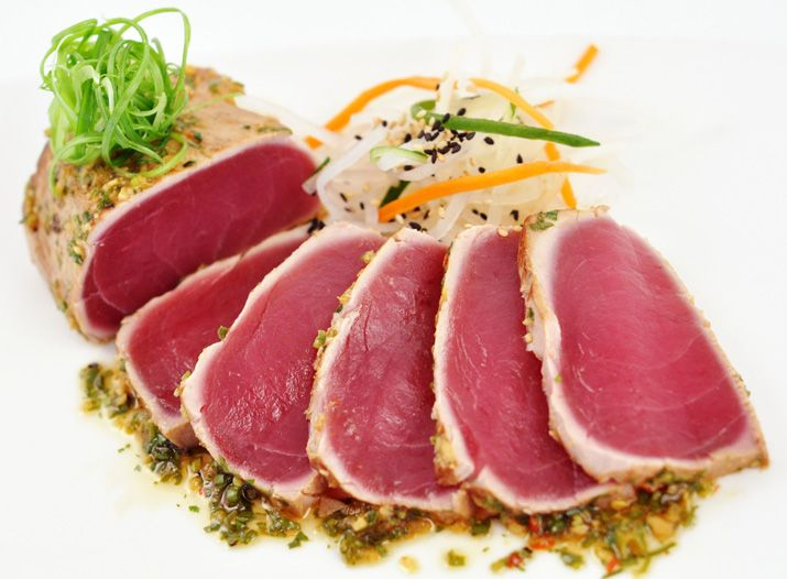 Seared Ahi Tuna | Main Course ~ Seafood | Pinterest