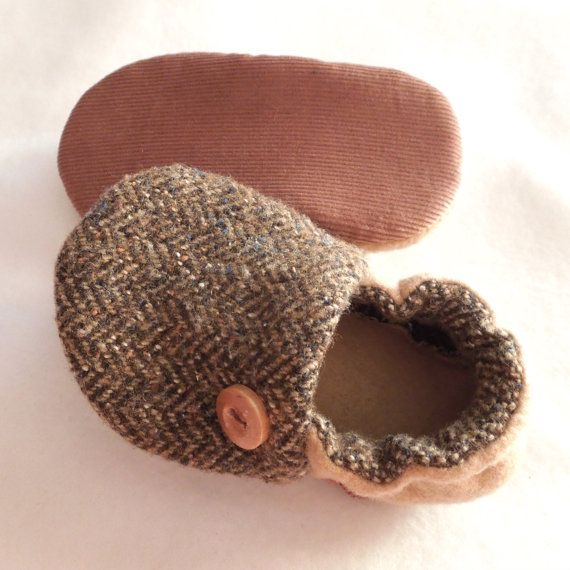 soft soled baby shoes NeW FaLL 2012 'Misfit Mitch' by birdyboots