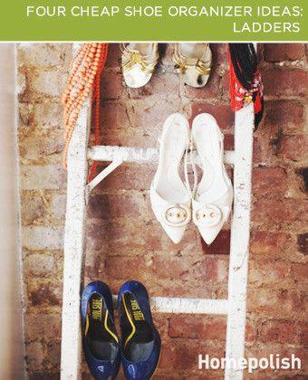 cheap shoe organizer ideas