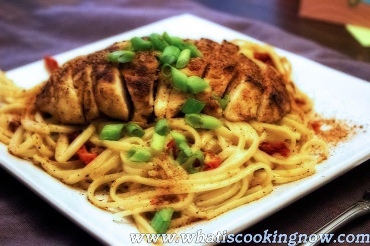 Cajun Chicken Pasta | yummy! | Pinterest