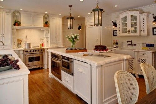 ovens in island kitchen pinterest On kitchen island with built in stove and oven