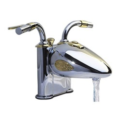 Designer Motorcycle 4-inch Centerset Lavatory Faucet~~~tooooo cool!