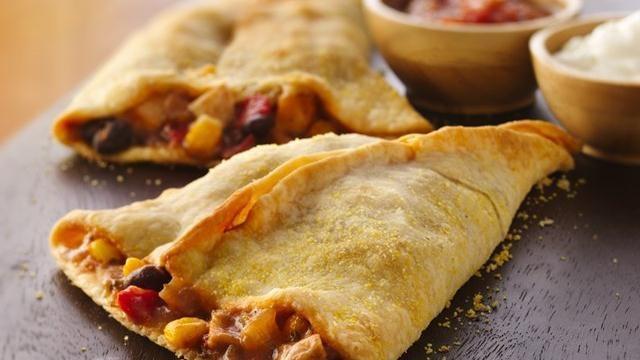 Chicken Empanada Cones | Recipe