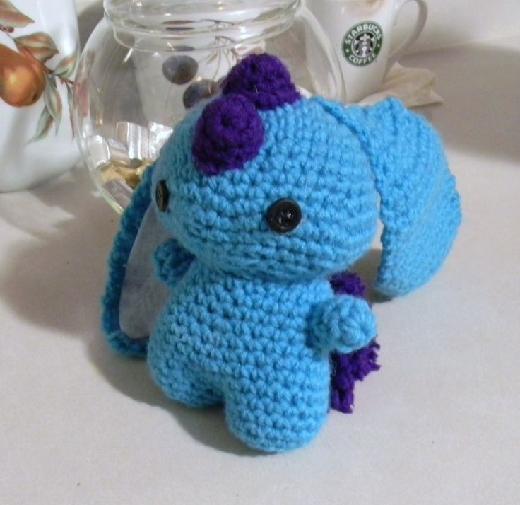 crochet monster amigurumi Crochet Addict Pinterest