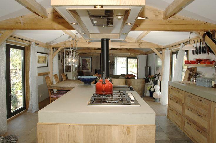 Interior dutch barge pinterest for Narrowboat interior designs