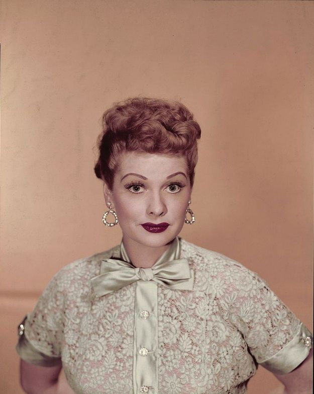 Lucille Ball I Love Lucy Color The Image Kid Has It