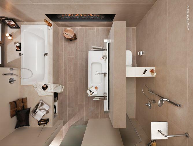 diana bad 10 qm von oben mit t wand badezimmer planung pinter. Black Bedroom Furniture Sets. Home Design Ideas