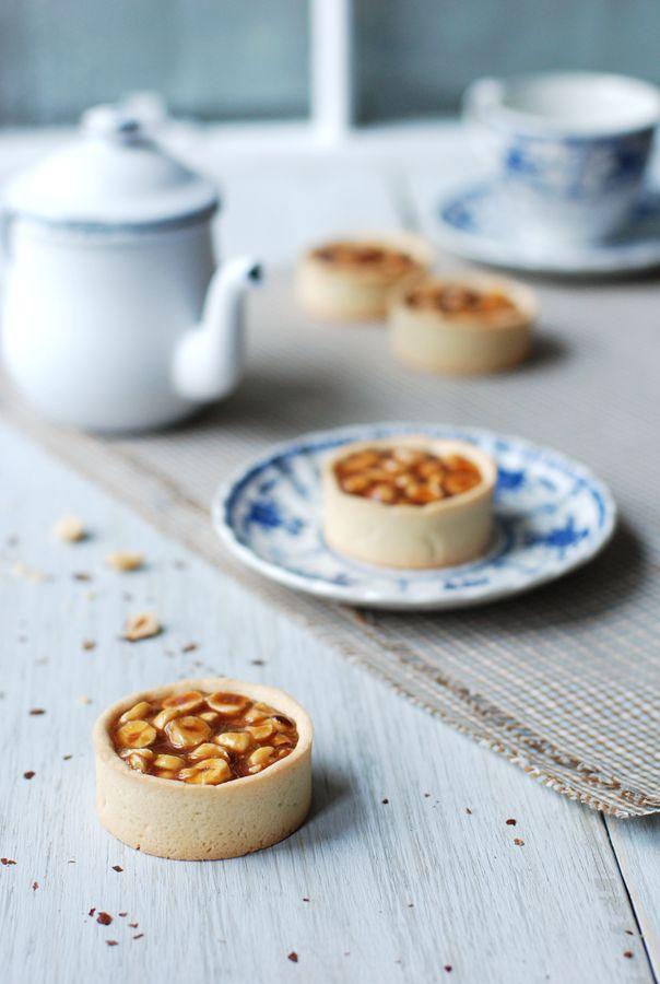 Hazelnut Caramel Tartlets | Recipes - Cake, Cupcakes, Pie, Tart and T ...