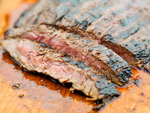 Grilling: Mojo Marinated Flank Steak with Grilled Onions | Serious ...