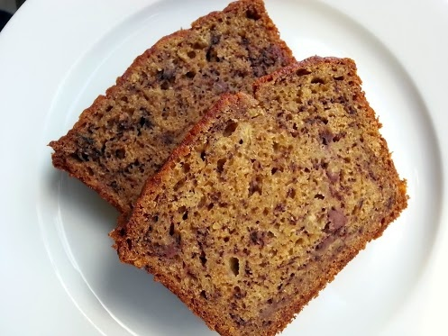 ... basic glutenfree banana bread ... it includes Teff and quinoa flakes