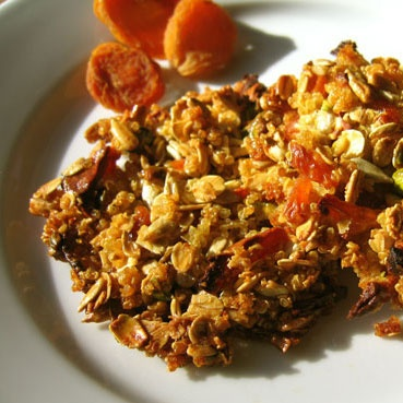Quinoa, Apricot, and Nut Clusters | Recipe