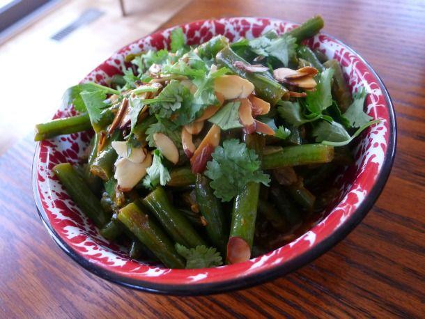 Bihari Green Beans Masala from Serious Eats. http://punchfork.com ...