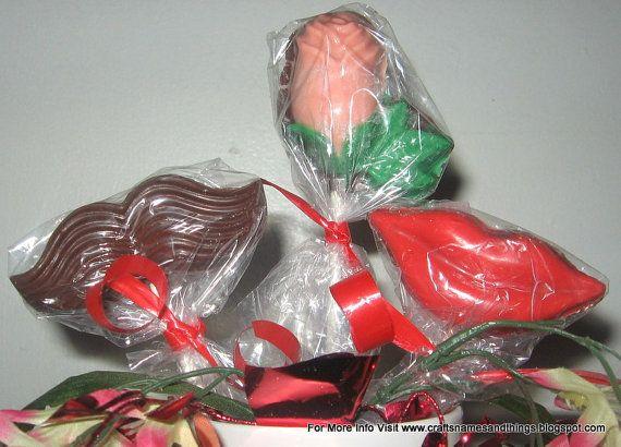 valentine candy rose craft