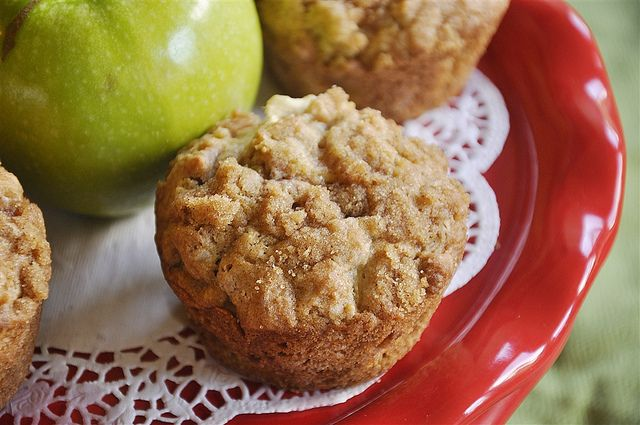 Apple Strudel Muffins Recipe — Dishmaps